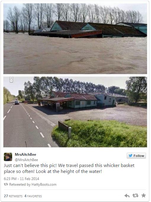 twitter floods